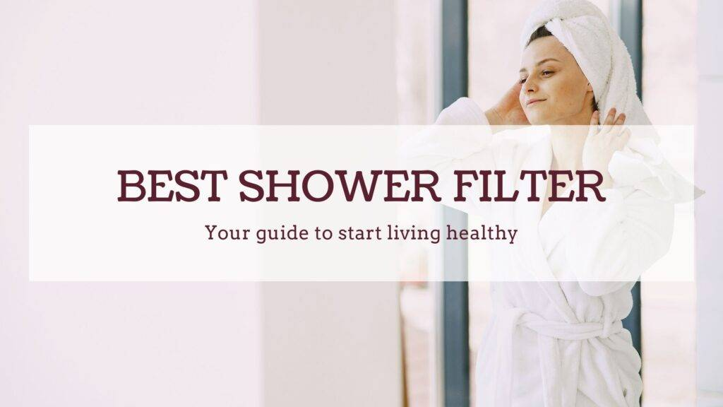 best chlorine and chloramine shower filters
