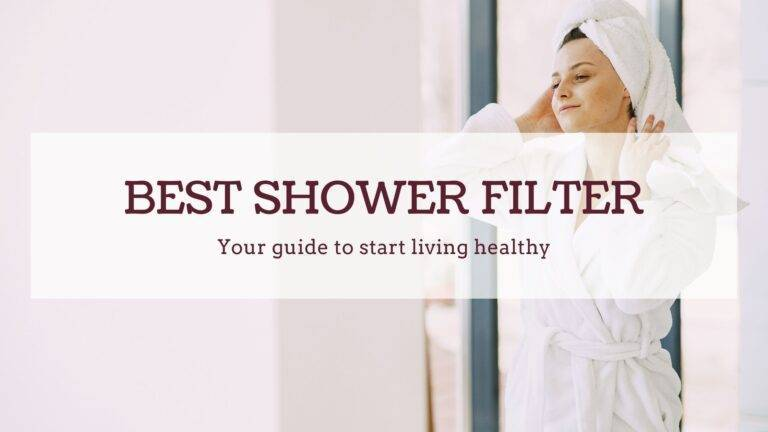 best shower filter for chlorine and chloramine