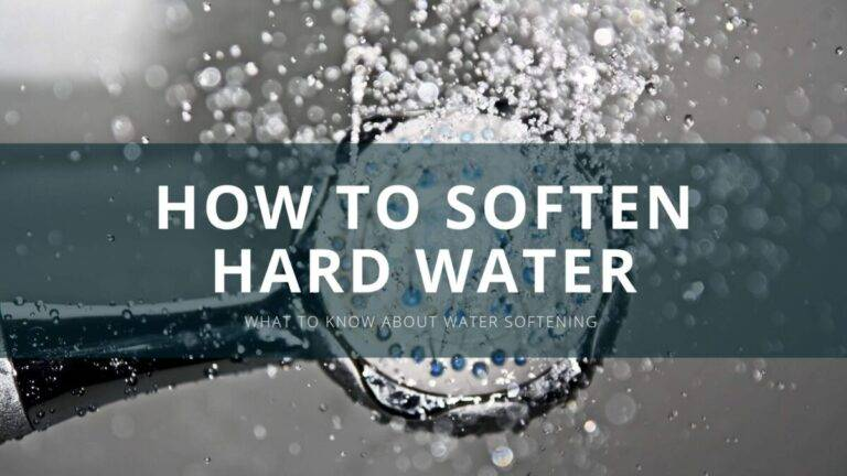 how to soften hard water